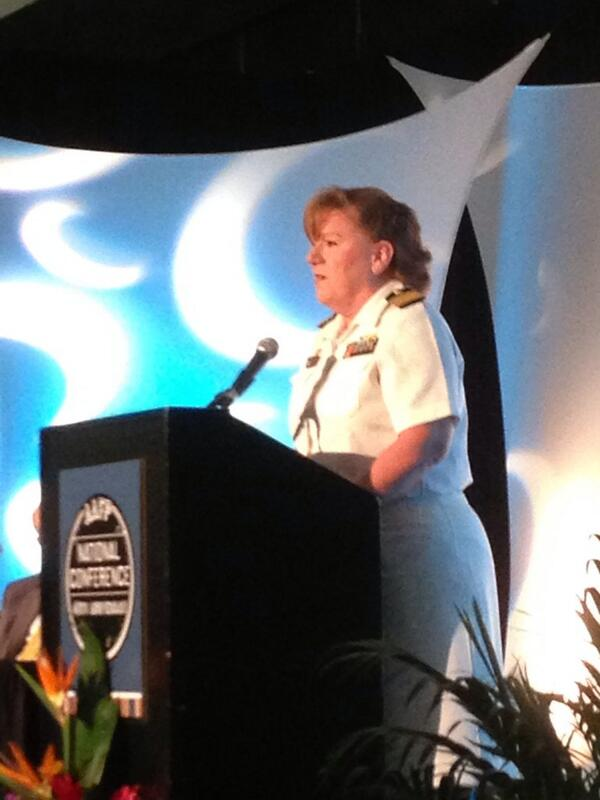 Capt Mo Padden speaking about practice transformation in US Navy. Medical home port a great PCMH success. #aafpnc pic.twitter.com/CMFQHmaXaO