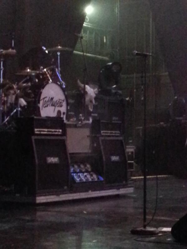 Ted Nugent coming up next! pic.twitter.com/rWyaro4s99