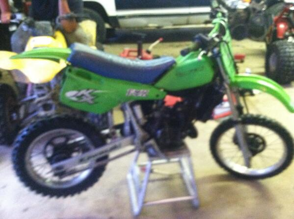 kx80 dirt bike top speed