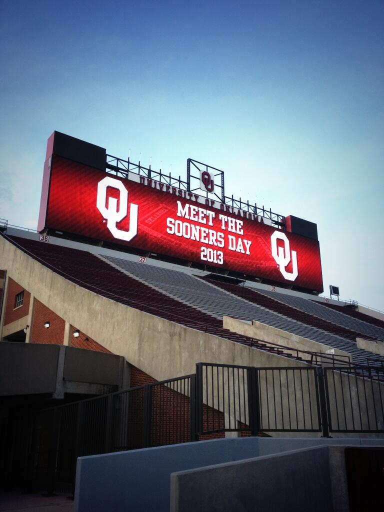 "Oklahoma Sooners on Twitter: ""The gates are open for the ..."