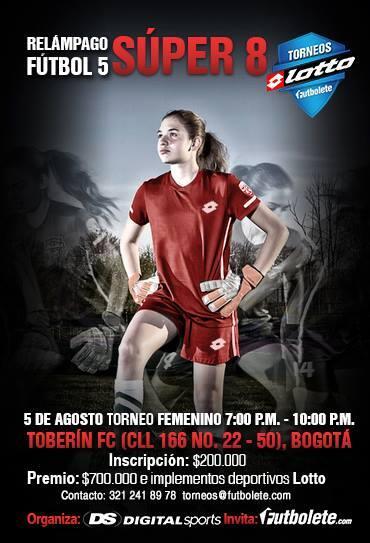 Esta semana, un nuevo #torneolotto, pero esta vez femenino. En Bogotá! Agosto 5 http://t.co/0QB9ZluiFe http://t.co/lHmYvG4BJE
