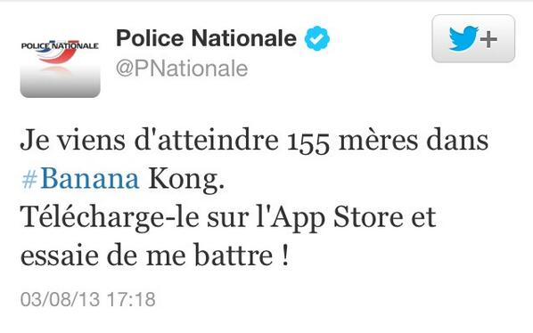 police-nationale-banana-kong
