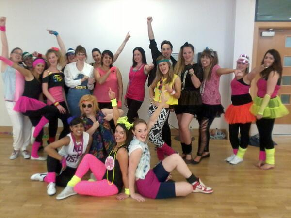 GwenCheerCo On Twitter Ace Outfits For 80s Hen Party In Leeds Today Tco NbpwTlRAqD