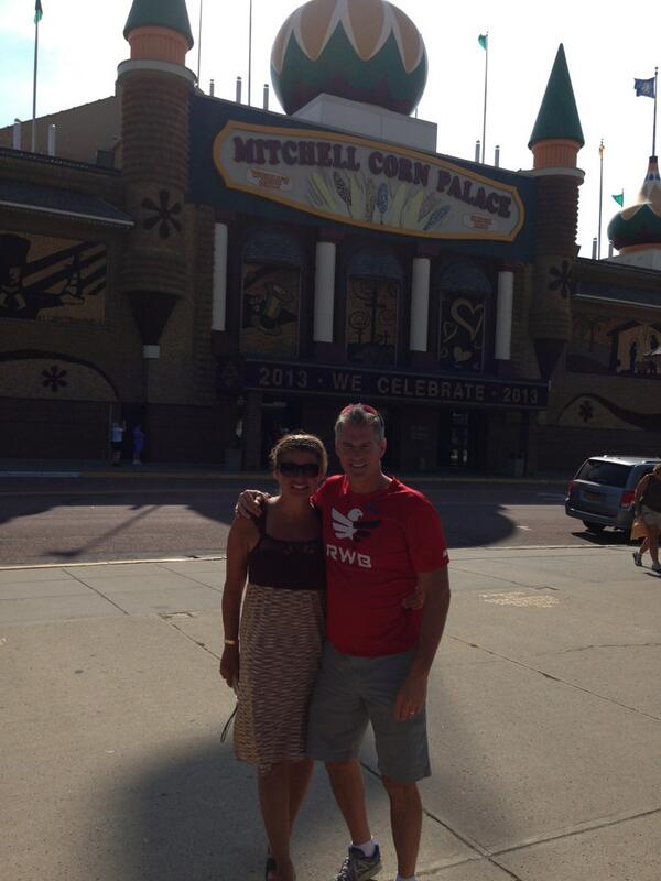 In Mitchell, SD at the Corn Palace. http://t.co/JpGP3bR7zS
