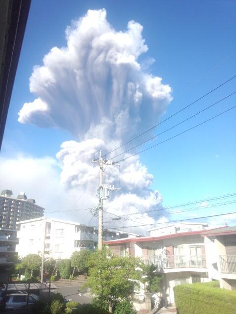 桜島大噴火!!
