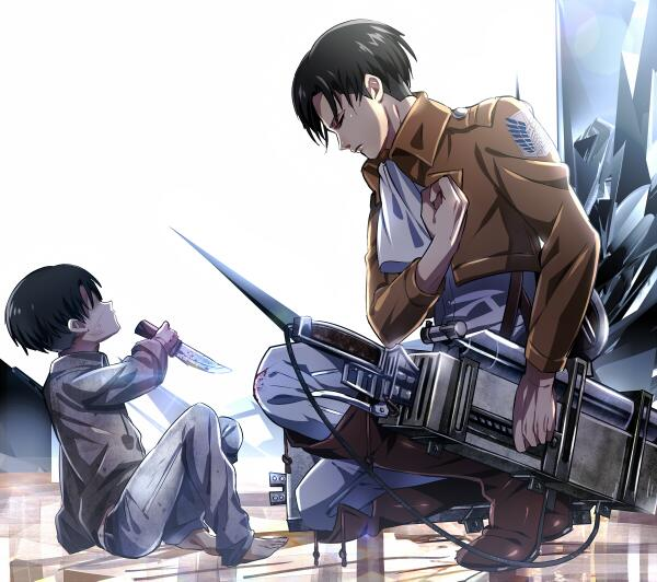 Attack On Titan A Twitteren Levi Vow Of The Scouting Legion Check More Attack On Titan Wallpaper At Http T Co Ahbbhxyops Http T Co Byzxpzotiv