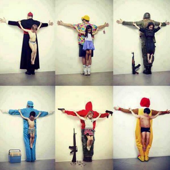 Crucified Boy