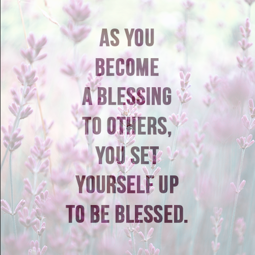 Tony Evans On Twitter As You Become A Blessing To Others You Set
