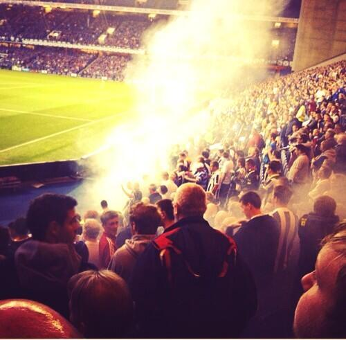 Rangers - Newcastle United 1:1 (friendly) BRA6sTbCQAEnhME
