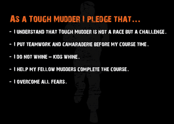 Image result for tough mudder pledge