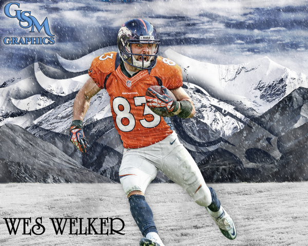Discuss football with over 60 000 fans  Free Membership  Join now  Wes Welker Broncos Wallpaper