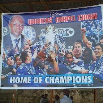 Winners chapel, home of champions. Abaaaaa... @Amegaxi http://t.co/7WZLylVWlj