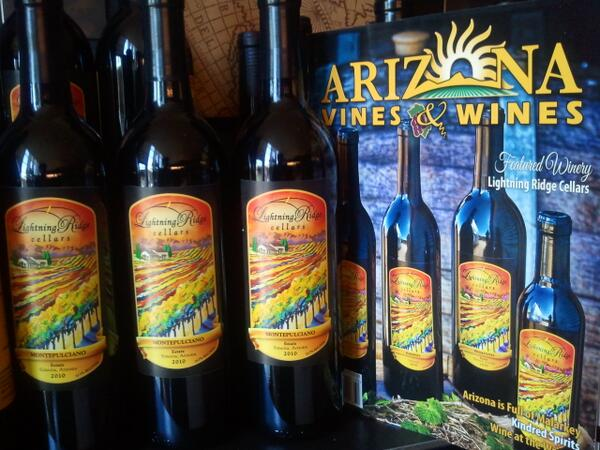 Excited to stock @LRCellars #Montepulciano @fnbaz's #azbodega! @azwineries @azvinesandwines http://t.co/sz23LA84Ky