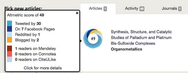 Well, this paper is doing well on Altmetric... I bet its score is a lot higher by the weekend... http://twitter.com/stuartcantrill/status/365218861236224001/photo/1