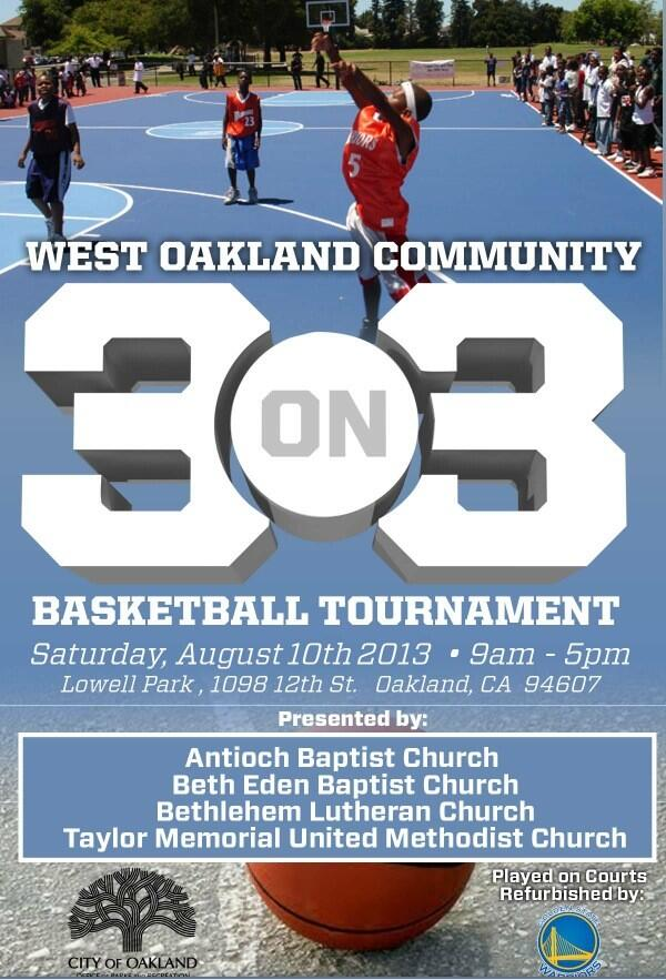 Basketball On Twitter West Oakland 3 Tournament Saturday August 10 At Lowell Park Tco G7yYLDIEbx