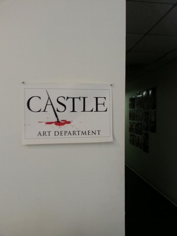 Castle Art Department Tweets (S6) BRGg0MXCEAAMzGZ