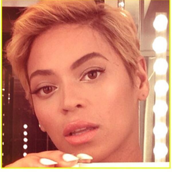Beyonces Natural Hair Cool Hairstyles