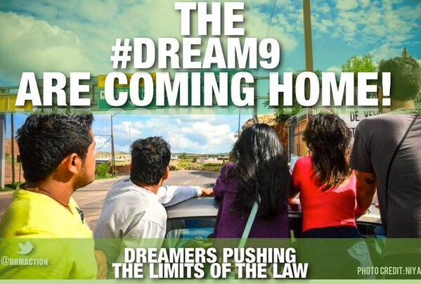 Community organizing has had a lot more results than any politician. I hope the #Dream9 wake up the sleeping giant. pic.twitter.com/p5MJ9N6cCt