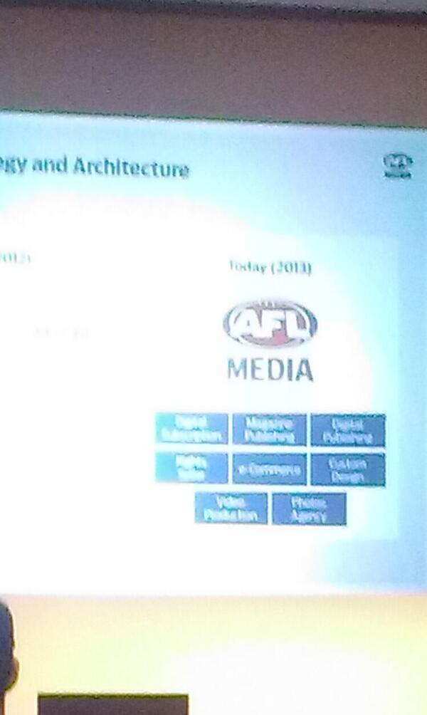 8 divisions now make up @AFL Media #admaforum must be a huge content #marketing team in the background http://t.co/xlcO1aWlVE