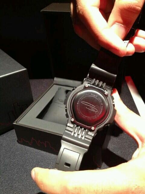 The back of the new Eminem G-Shock watch. pic.twitter.com/D3j1njl2D5