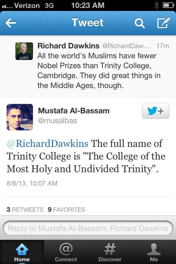 Thumbnail for Richard Dawkins Creates Nobel Prize Controversy