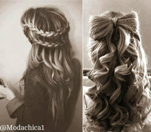 moda de chicas on twitter peinados muy chulos para asistir a algn evento httptcoirxjb7geu0 - Peinados Chulos