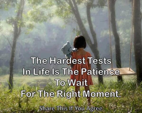 English School On Twitter اصعب اختبارات الحياة هو الصبر في انتظار اللحظة المناسبة غرد بصورة حكمة درر Http T Co A4o45yp36w