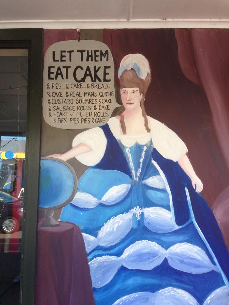 Bakery mural in Bulls, NZ