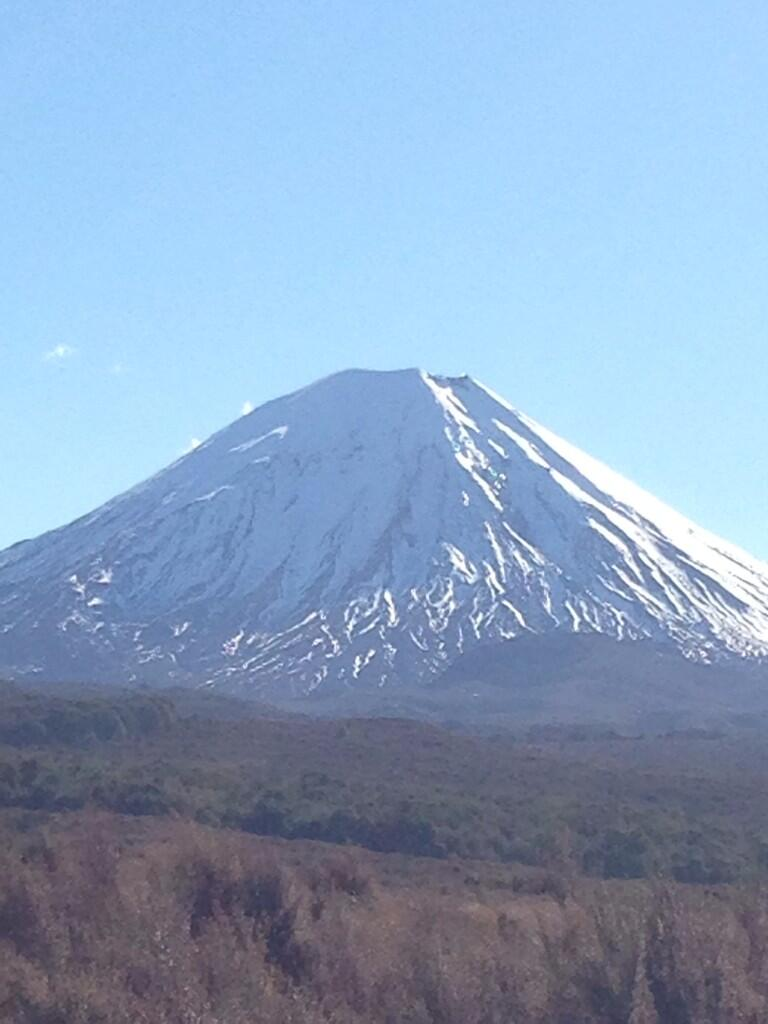 Tongariro, also known as Mt. Doom