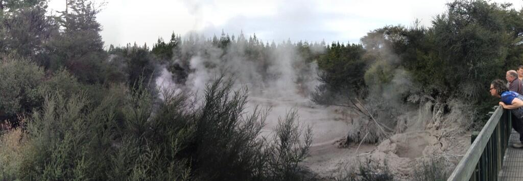 Mud pools at Waiotapu
