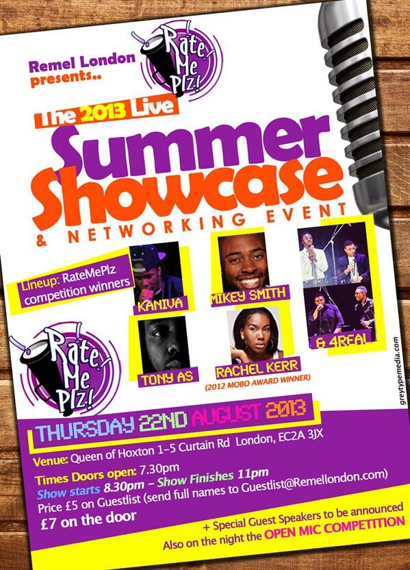 . @4RealMusic1 You are performing on the 22nd Aug, are you excited? pic.twitter.com/DBp40tnXJU