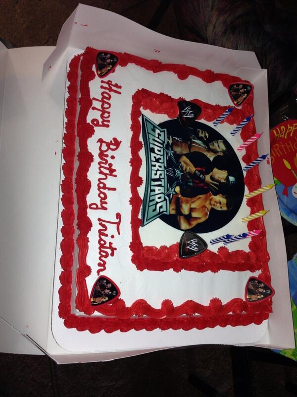 Collections Of Randy Orton Birthday Cake