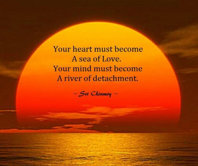 Twitter / ChitownAnnie: Your heart must become a sea ...