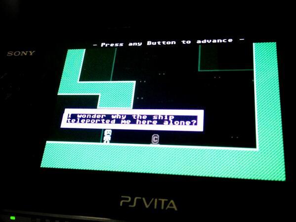 VVVVVV выйдет на PS Vita