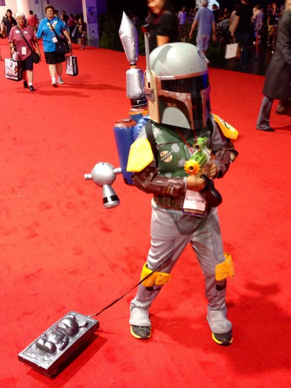 This is the kind of bounty you can only catch at #D23Expo. pic.twitter.com/75TaXZpn4X