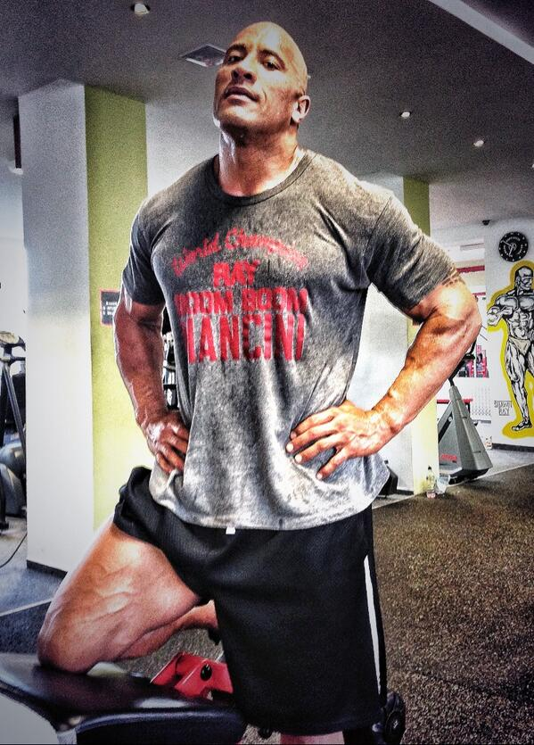 how to get a body like dwayne johnson