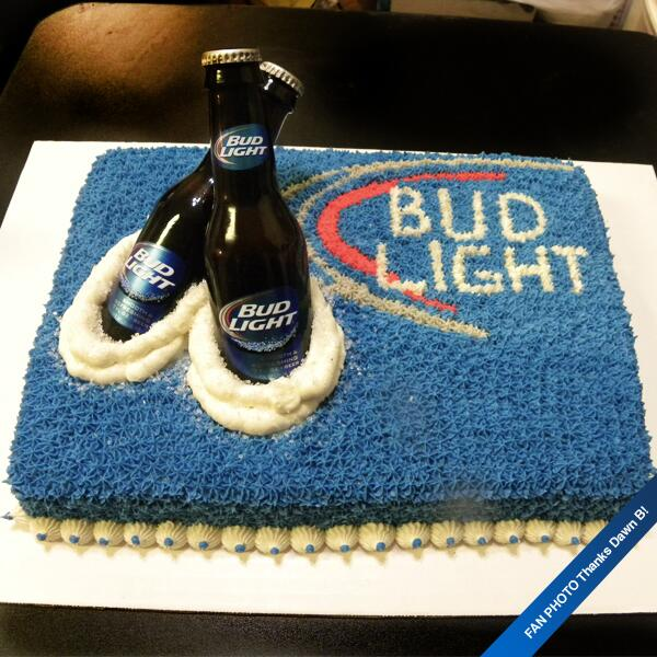 Remarkable Bud Light On Twitter This Isnt Your Average Birthday Cake Personalised Birthday Cards Cominlily Jamesorg