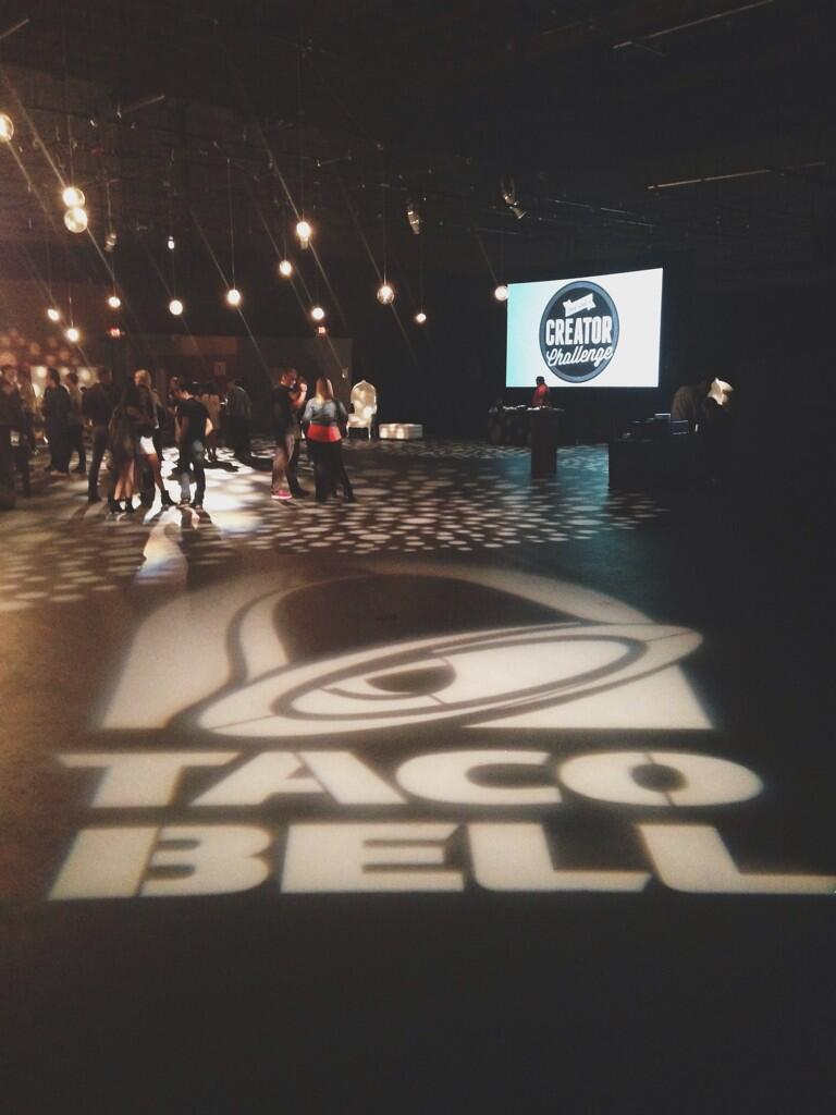 Twitter / thats0jack: at the @tacobell party😏 ...