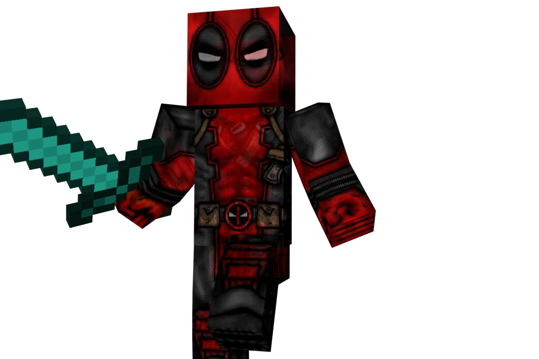 Fazerenders Apk On Twitter Quot Deadpool Minecraft Skin