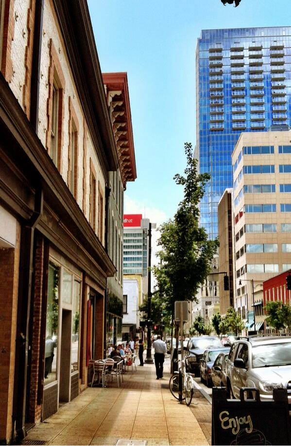 Restaurants Downtown Raleigh Fayetteville St