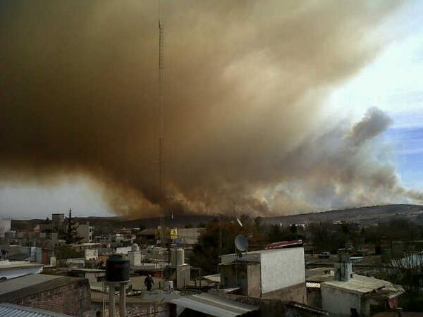 Incendio en Villa carlos paz pic.twitter.com/U7S7jR66PX