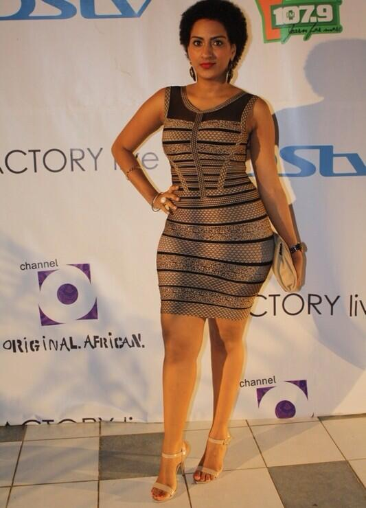 Are you Feeling Juliet Ibrahim's Outfit for Channel O's Live