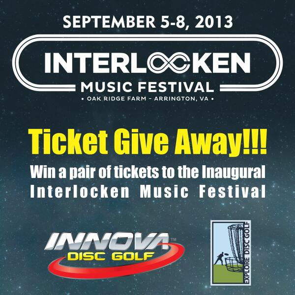 Win Tickets to @interlockenfest from @InnovaDiscs!  #DiscGolf #Music #Giveaway  http://www.innovadiscs.com/home/597-interlocken-ticket-giveaway.html…