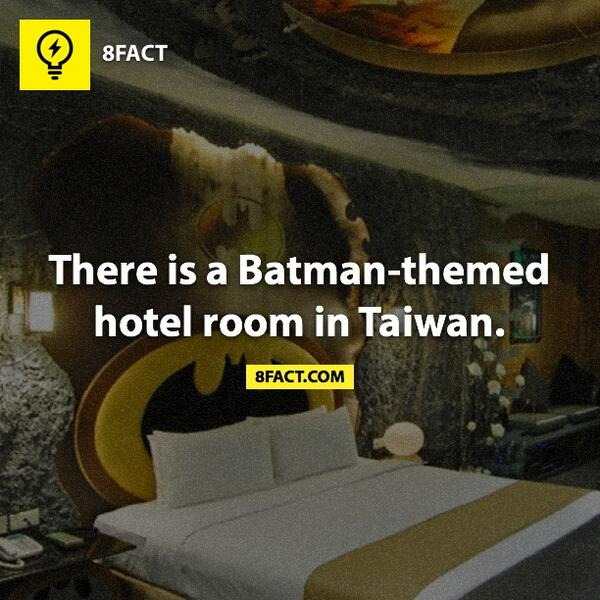 8fact On Twitter There Is A Batman Themed Hotel Room In