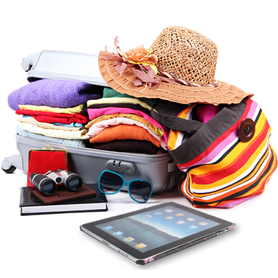 """""""Come on, pick up your bag and let's go!"""" when you hear those words, what's the first thing you put in a suitcase? http://t.co/eviDIQsaAc"""