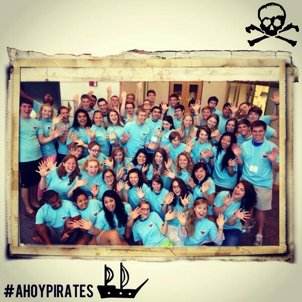 Meet our RA's, who are preparing to set sail for another adventurous year! #ahoypirates #besouthwestern pic.twitter.com/xFuWtJ8Cpc