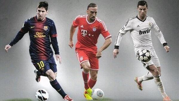 المرشحين لجائزة أفضل لاعب أوروبا
