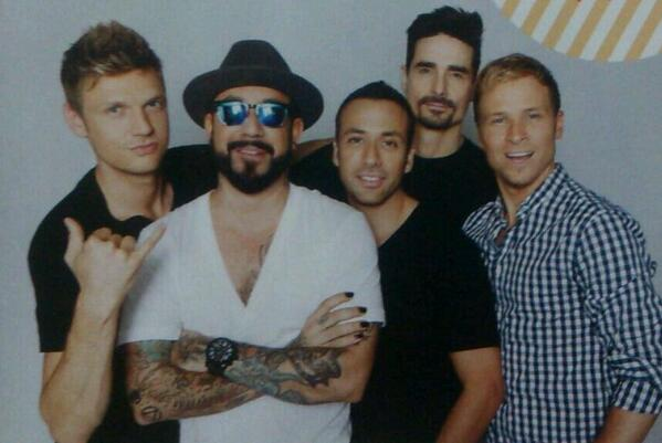 Backstreet Boys - InRock magazine (september 2013, Japan ...