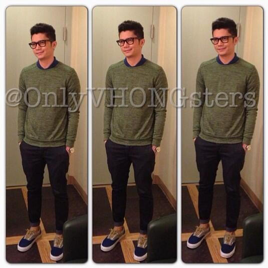 Onlyvhongsters Ovs On Twitter Vhong 39 S Outfit For Today Cto Latepost Vhongx44 Http