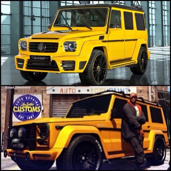 """GTA Base On Twitter: """"Real Life Cars In #GTAV"""